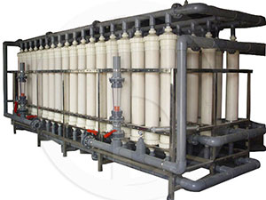 Ultrafiltration (mineral water) equipment unit
